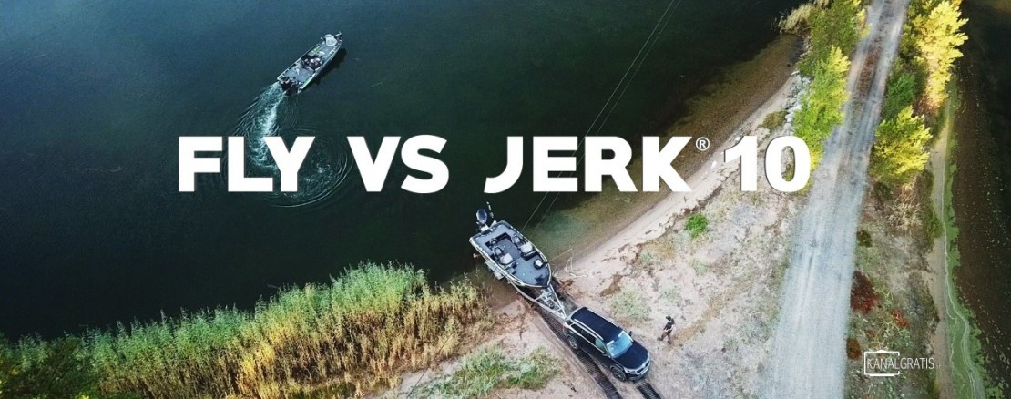 Fly vs Jerk 10 - Reality pike fishing competition